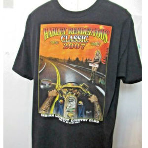 Harley Davidson Rendezvous Classic 2007 XL T-Shirt